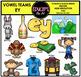 Vowel Teams - Long e  Clip Art Bundle