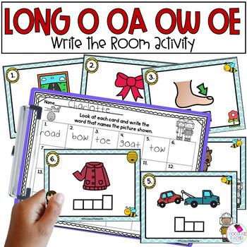 Vowel Teams OA, OW, OE Write the Room