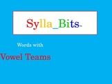 MAP Prep NWEA Reading Vowel Teams SyllaBits Fluency Buildi
