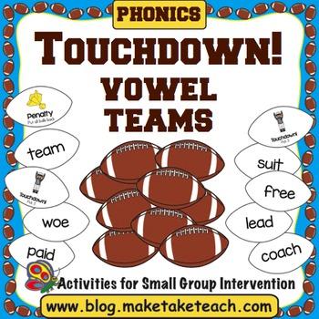 Vowel Teams - Touchdown!