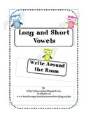 Vowel Write Around the Room