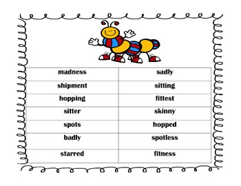 Vowel and Consonant Suffix Sort