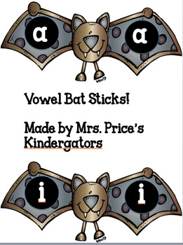 Vowel bats Read the Room and Sticks