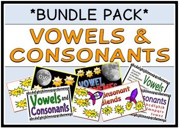 Vowels & Consonants (BUNDLE PACK)