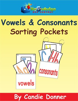 Vowels & Consonants Sorting Pockets