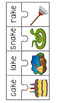 Vowels - Long Vowel Puzzles - Rhyming - Word Families - RT