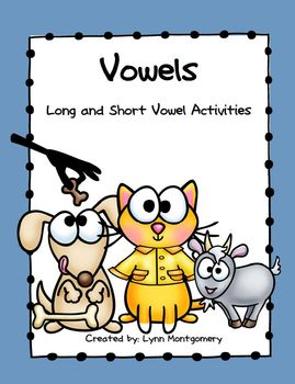 Vowels - Long and Short Vowel Activities
