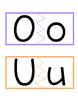 Vowels Matching Activity