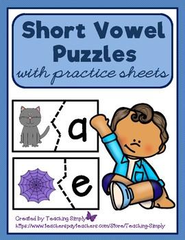 Vowels - Short Vowel Puzzles