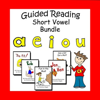 Vowels, Vowels , Short Vowels, Guided Reading Books Short