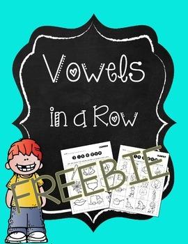 Vowels in a Row *FREEBIE*