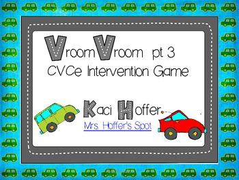 Vroom Vroom {CVCe Intervention Game}