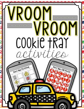 Vroom Vroom Cookie Tray Activities