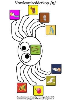 Vrøvleordsedderkopper /ŋ/