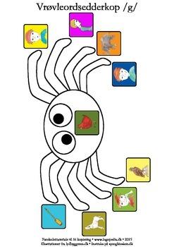 Vrøvleordsedderkopper /g/