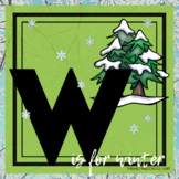 W is for Winter Themed Lesson Plans (TWO Week)