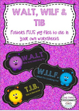 WALT WILF TIB - Display posters and clip art files for worksheets