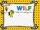 WALT, WILF & TIB Posters - For learning objectives & outco