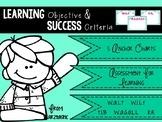 WALT WILF TIB WAGOLL learning objective poster {year2tastic}