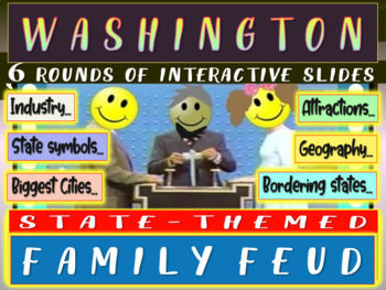 WASHINGTON FAMILY FEUD! Engaging game about cities, geogra
