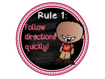 WBT 5 RULES