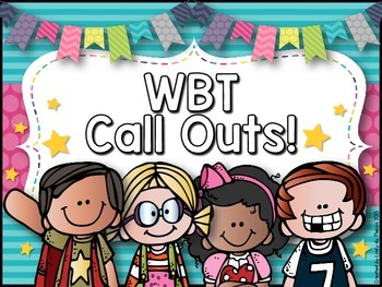 WBT Call Outs