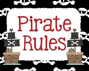 WBT Rules-Pirate themed