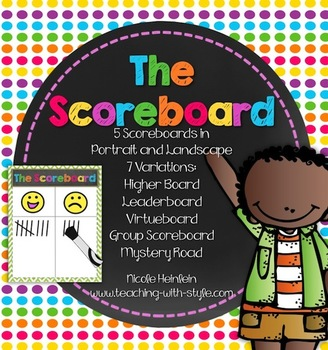 Whole Brain Teaching Scoreboard Ultimate Pack {WBT FREEBIE}