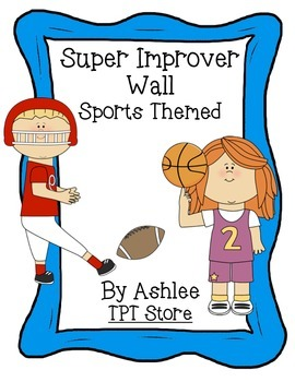 WBT Super Improver Wall Sports Theme 2