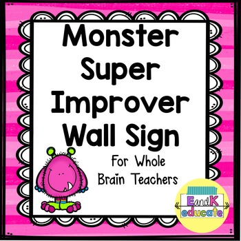 WBT Super Improver Wall with Monsters