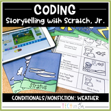 WEATHER CLOUDS INTERACTIVE STORYTELLING AND CODING NONFICT
