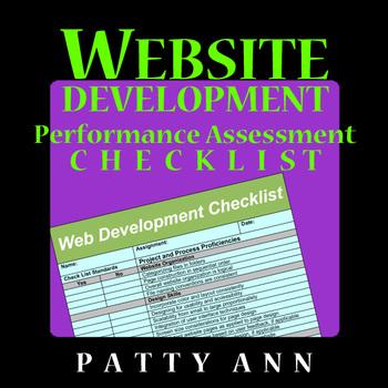WEBSITE Development Performance Assessment CHECKLIST RUBRICS