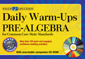 Daily Warm-Ups Pre-Algebra for Common Core State Standards