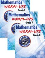 Mathematics Warm Ups for CCSS Series: Grades 6-8