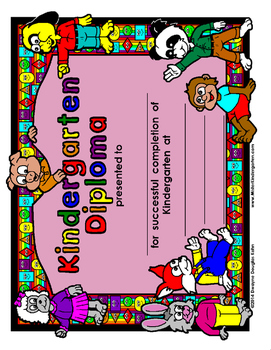 WEEKLY FREEBIE #26: Kindergarten Diploma
