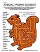 WEEKLY FREEBIE #65: Wild Animal Word Search