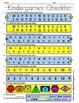 WEEKLY FREEBIE #78: Kindergarten Checklist