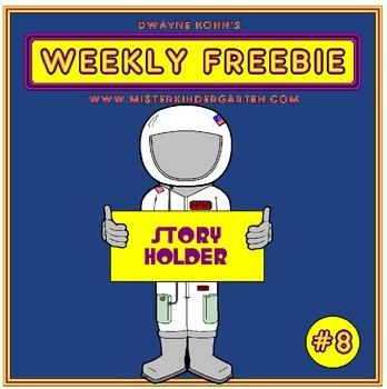 WEEKLY FREEBIE #8: Astronaut Story Holder