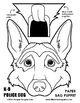 WEEKLY FREEBIE #99 - Police Dog Paper Bag Puppet