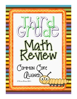 WEEKLY MATH REVIEW