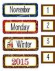 WESTERN - Calendar Set