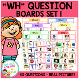 WH Question Boards Set 1