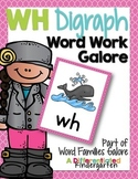 WH Digraph Word Work Galore-Differentiated and Aligned