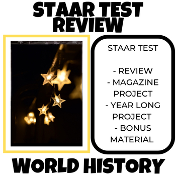 WH HISTORY STAAR TEST REVIEW MATERIALS