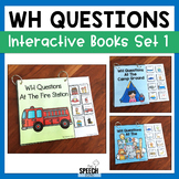 Interactive WH Question Books - Set 1