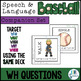 WH Question COMPANION SET for Speech and Language Baseball