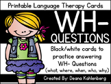 WH- Question Cards