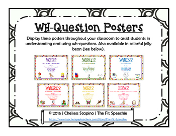 WH-Question Posters
