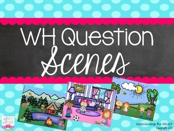WH-Question Scenes