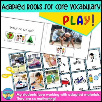 WH Questions- Interactive Books for Speech/Language, Autism, AAC